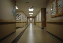 Empty Hospital Hall