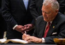 Governor Nathan Deal Signs Bill