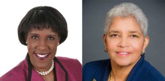 Atlanta Mayor Shirley Franklin and Ms. Foundation CEO Teresa Younger
