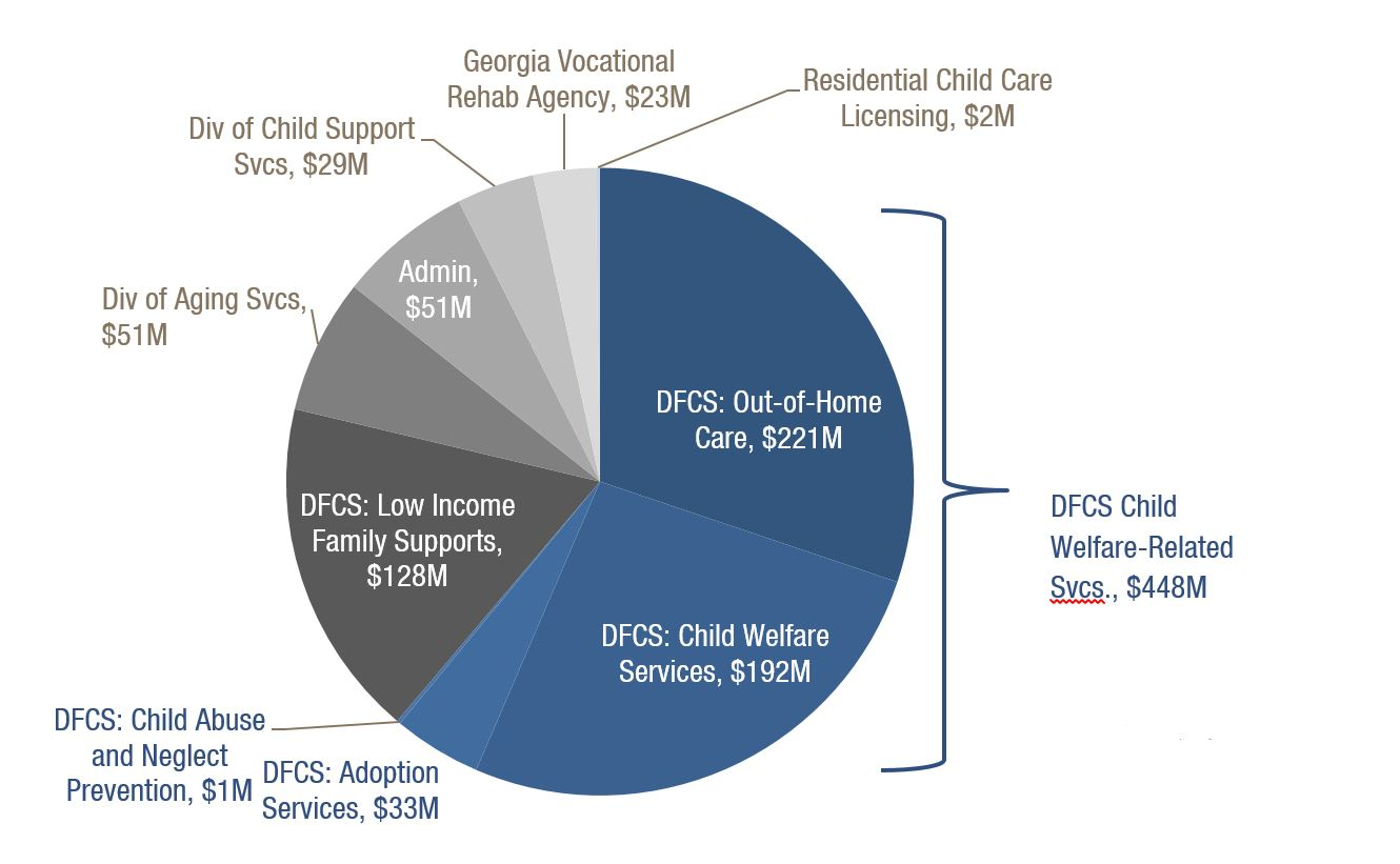 Overview 2018 fiscal year budget for human services georgia department of human services 732 million 2017 budget proposal nvjuhfo Image collections