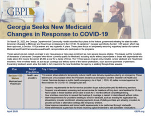 Georgia Seeks New Medicaid Changes Page 2