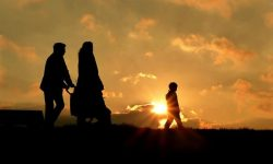 Family-Walk-Sunset-696x466